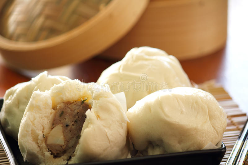 Chinees voedsel, Dimsum stock afbeelding