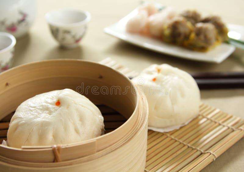 Chinees voedsel, [Dimsum] stock foto