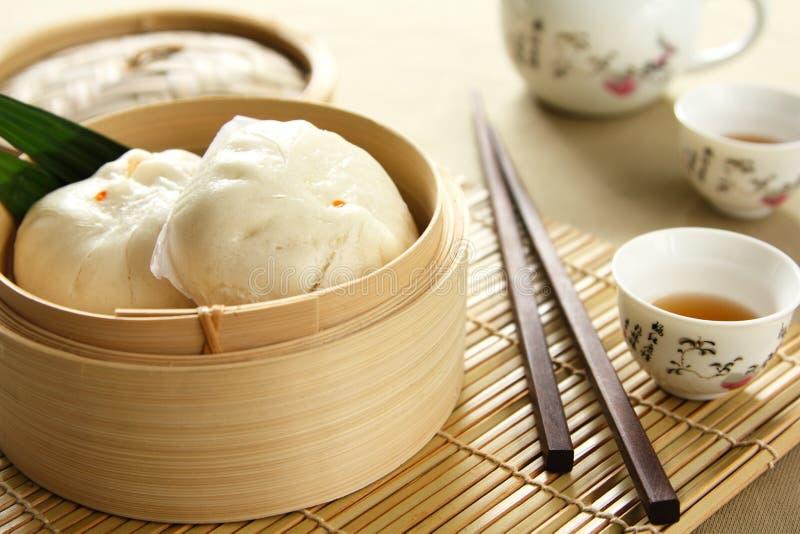 Chinees voedsel [Dimsum of buncha] royalty-vrije stock afbeelding