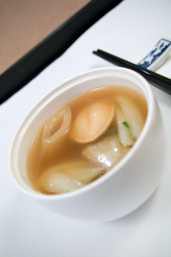 Chinese Abalone Soep stock foto