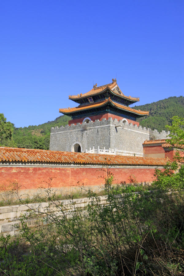 Free Chinese Ancient Architecture In The Eastern Royal Tombs Of The Q Stock Photography - 32738482