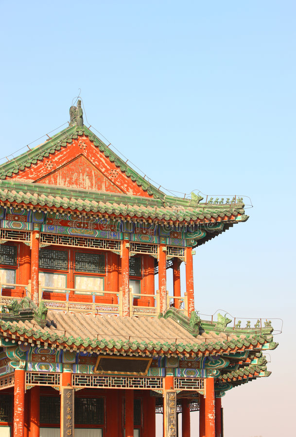 Download Chinese Ancient Building Royalty Free Stock Image - Image: 7204216