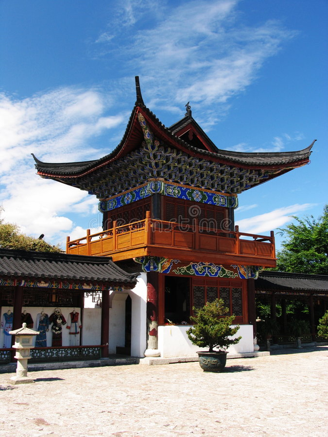 Free Chinese Ancient Temple Royalty Free Stock Photography - 5062897