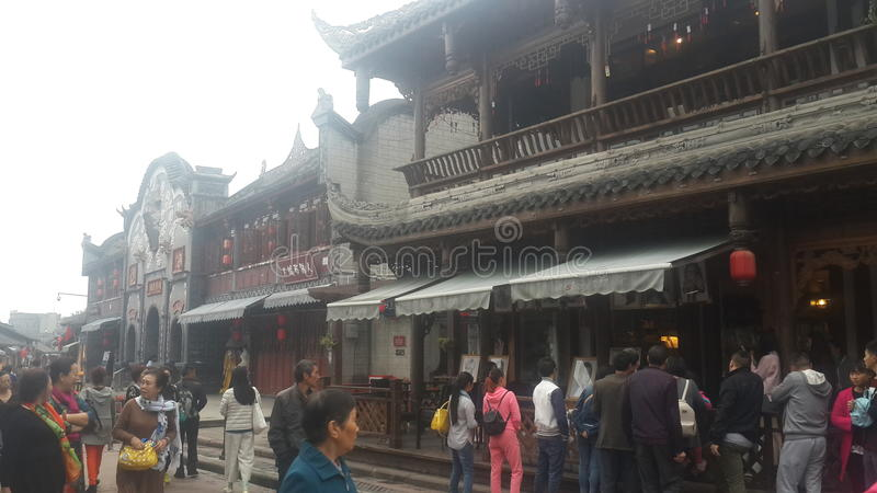 Chinese Ancient Towns royalty free stock images