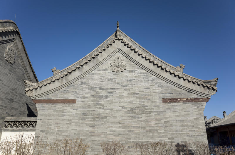 Chinese Antique architectural features royalty free stock images