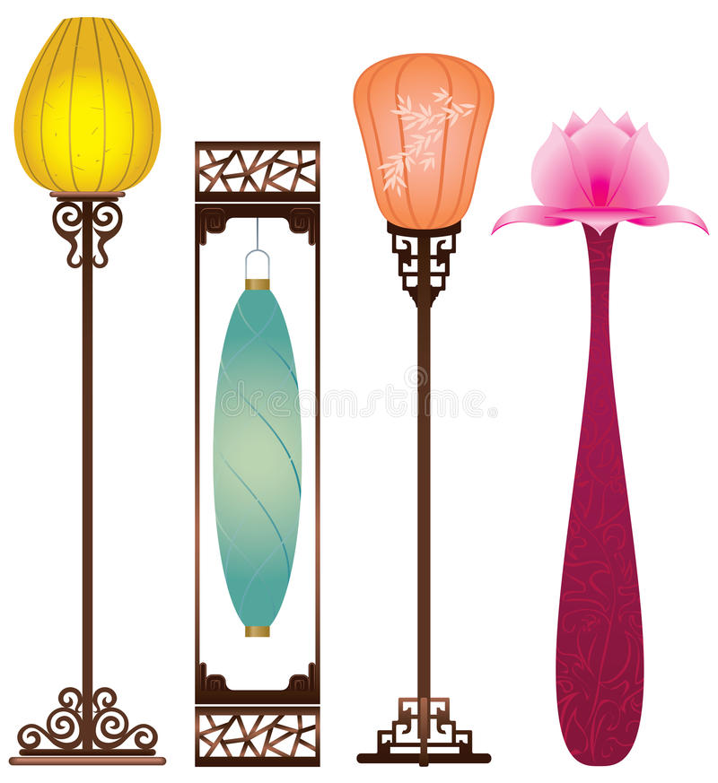 Download Chinese Antique Floor Lamp Royalty Free Stock Photo - Image: 20966845