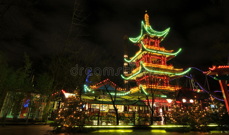 Chinese architecture royalty free stock photos