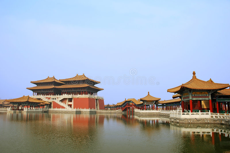 Chinese architecture royalty free stock photography