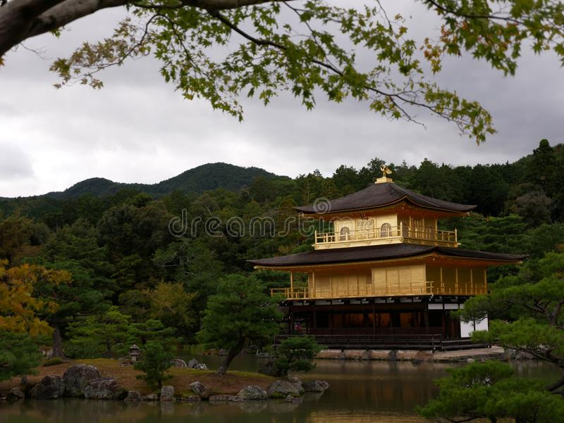 Chinese Architecture, Japanese Architecture, Nature, Reflection royalty free stock photos
