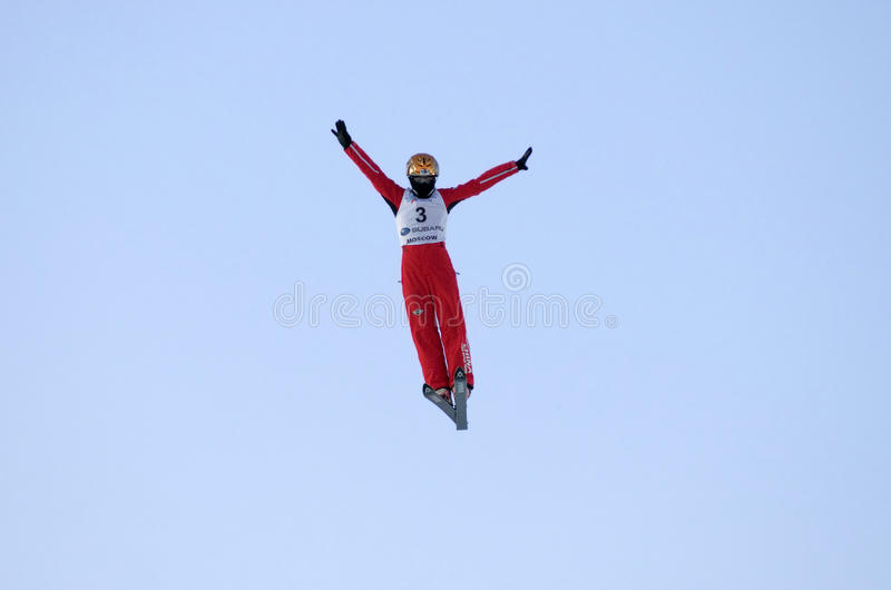 Chinese athlete CHENG Shuang royalty free stock photos
