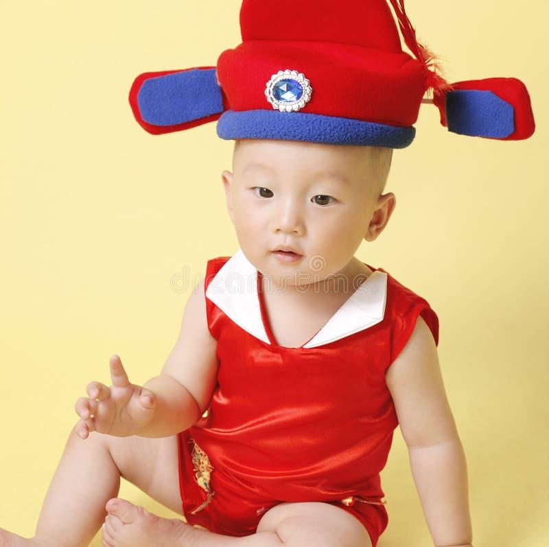 Chinese Baby stock foto