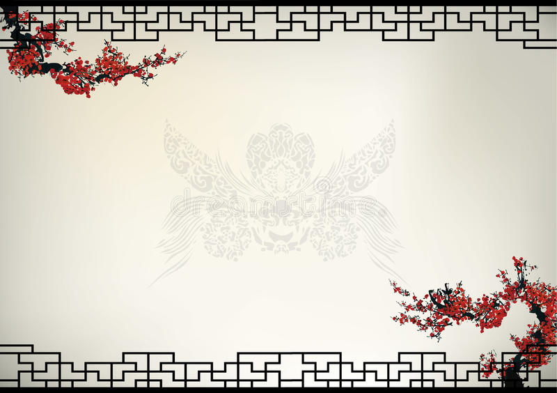 Chinese background vector illustration