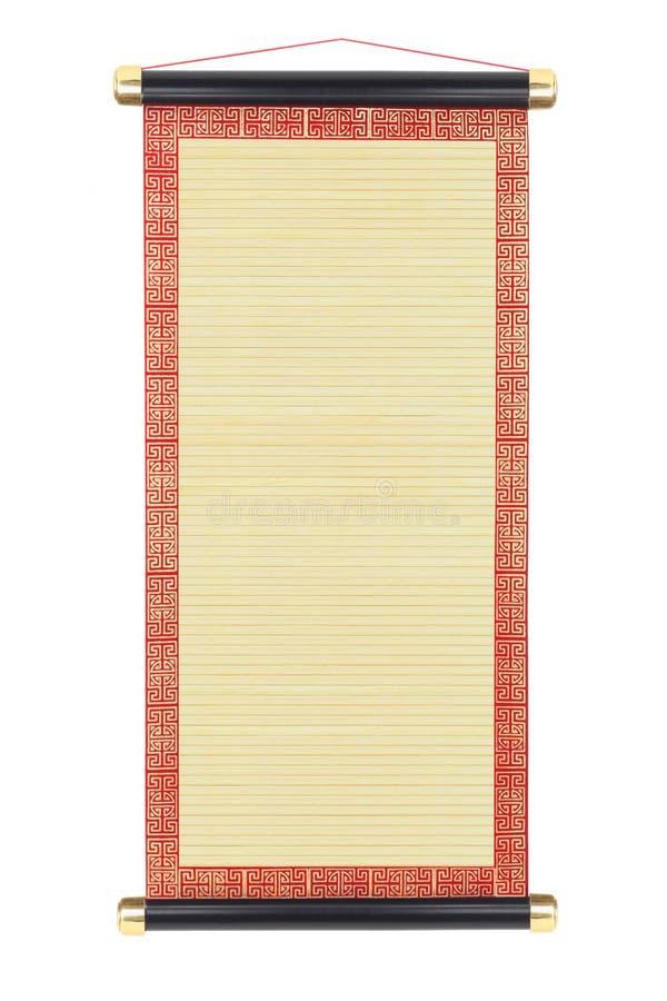 Chinese Bamboerol royalty-vrije stock foto's