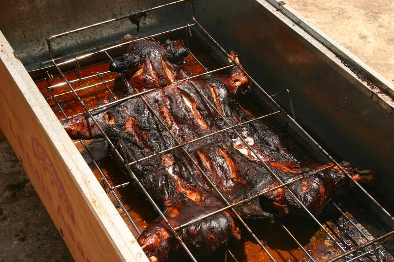 Chinese bbq royalty free stock photos