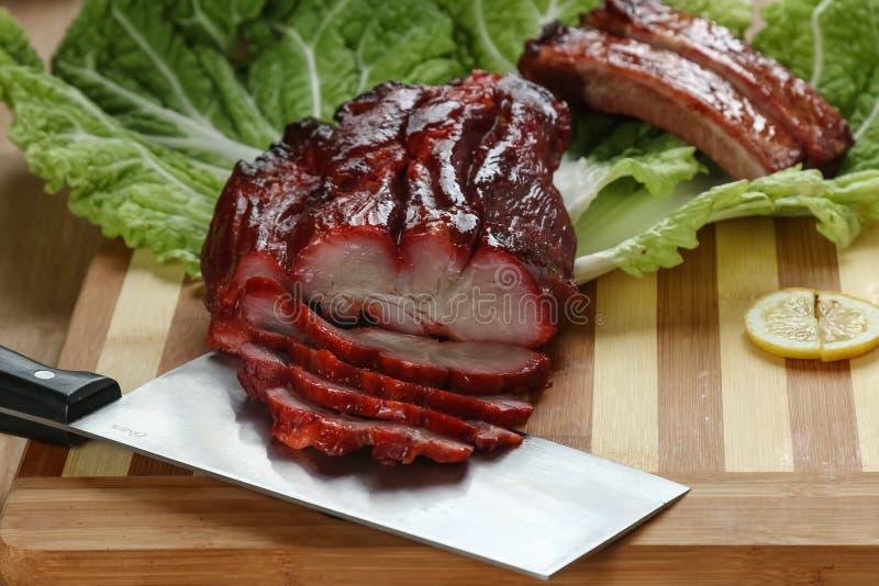 Chinese Bbq Roast Pork Slice