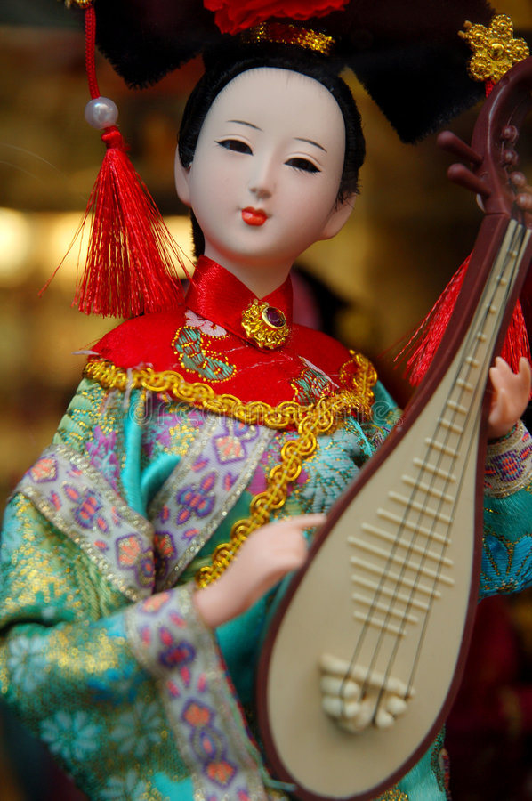 Chinese beauty royalty free stock photography