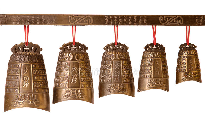 Chinese bell royalty free stock images