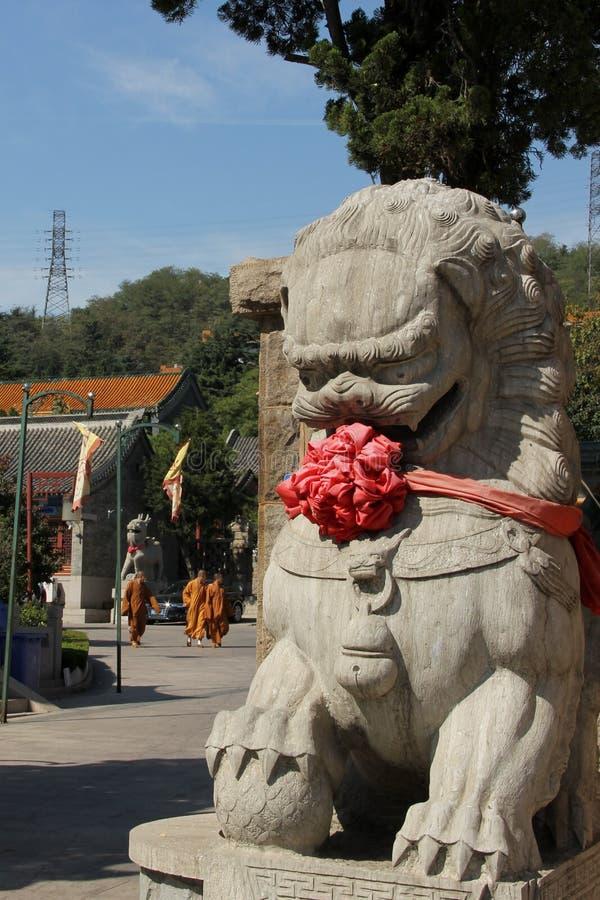 Chinese beschermerleeuw stock foto's