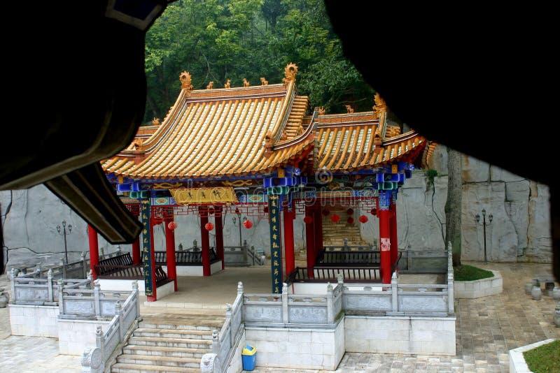 Chinese Boeddhistische Tempel royalty-vrije stock foto