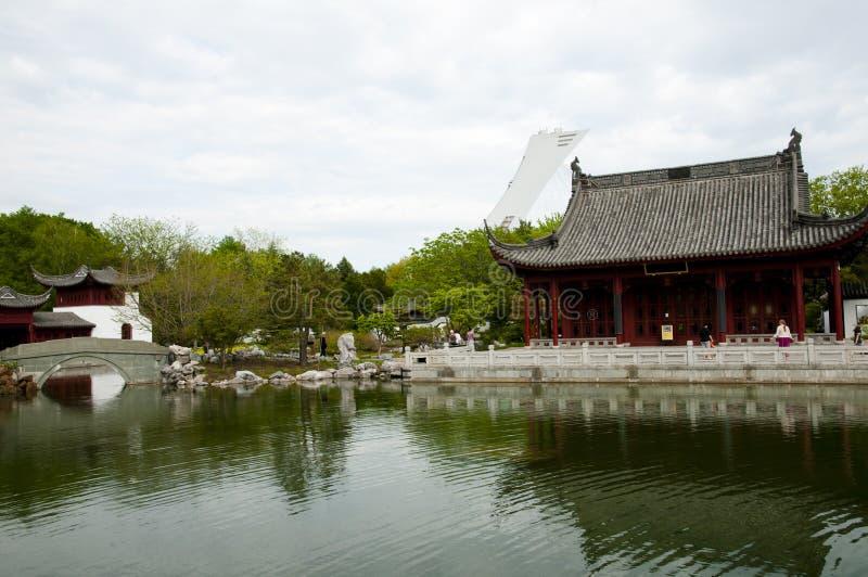 Chinese botanische tuin royalty-vrije stock foto