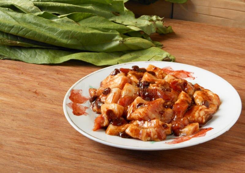 Chinese braised pork stock photo