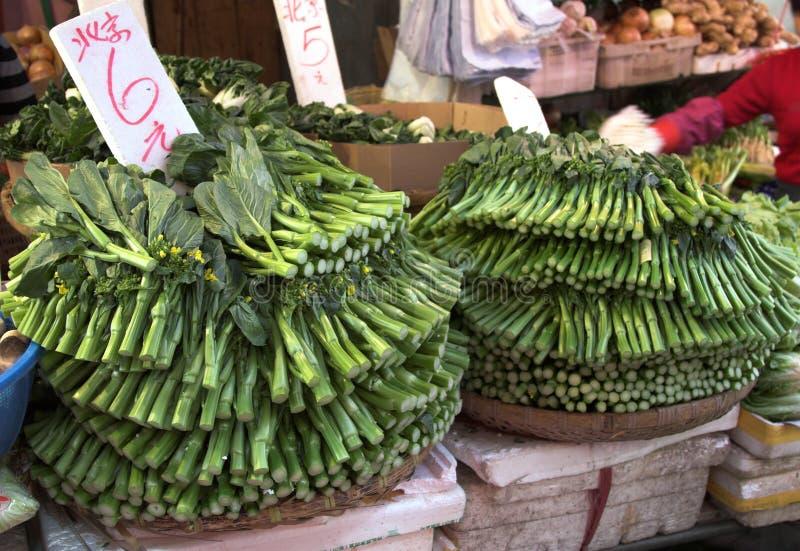 Chinese broccoli stock foto