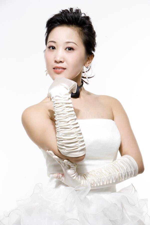 Chinese bruid stock foto