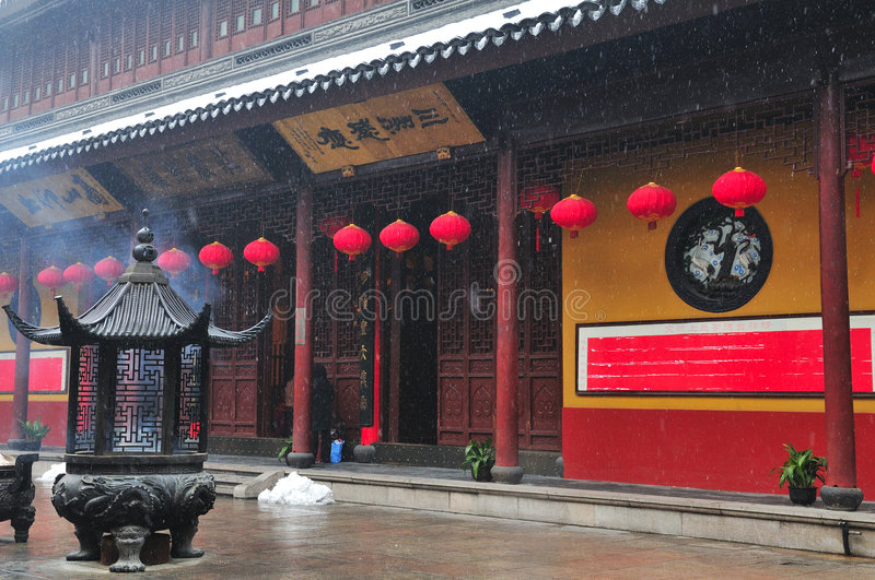 Download Chinese buddhist shrine stock photo. Image of oriental - 4311738