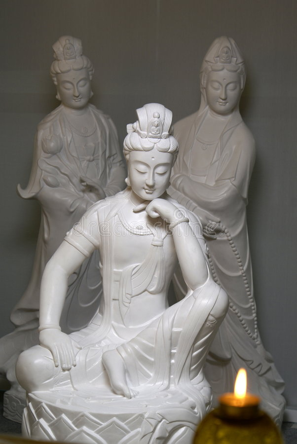 Download Chinese buddhist statues stock image. Image of sculptures - 6007219