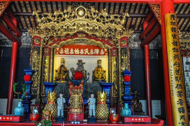 Chinese Buddhist temple in Kuala Lumpur, Malaysia. Chinese Buddhist temple in the cosmopolitan city of Kuala Lumpur, Malaysia royalty free stock image