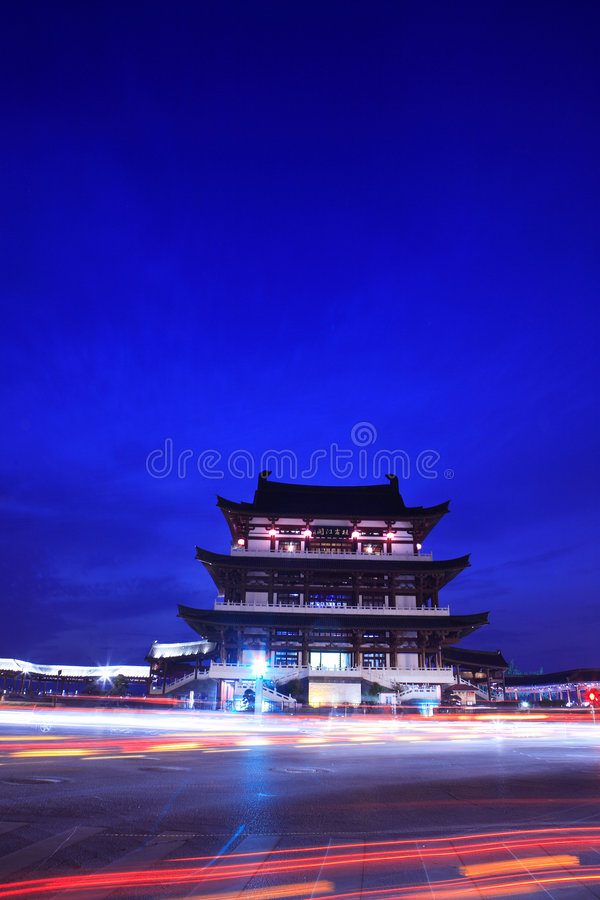 Download Chinese building stock image. Image of vintage, traditional - 7261847
