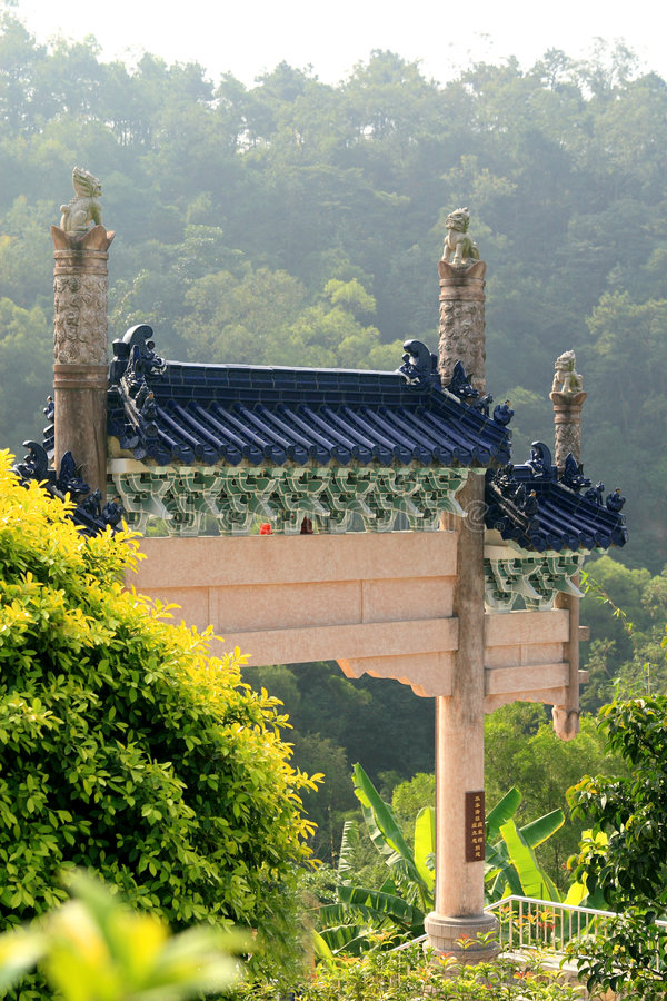 Download Chinese buildings stock photo. Image of yellow, beautiful - 7174850