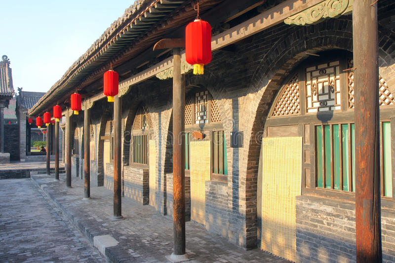 Chinese bungalow royalty-vrije stock foto