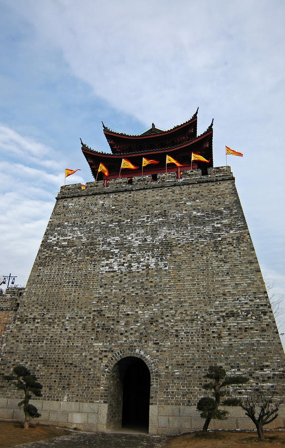 Download Chinese Castle stock photo. Image of asian, repairs, defense - 12528748