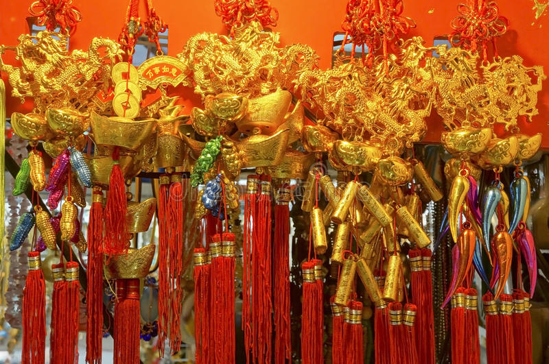 Download Chinese charms stock photo. Image of decorative, festival - 24270390