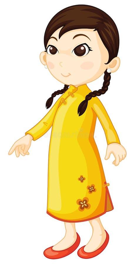 Free Chinese Cheongsam Royalty Free Stock Photos - 9191068