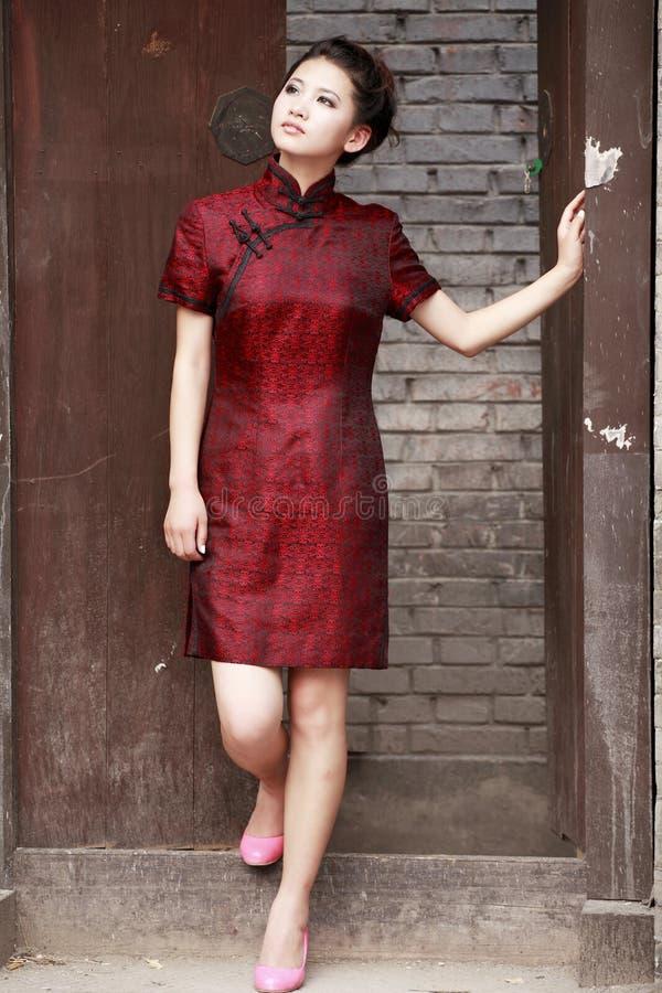 Free Chinese Cheongsam Model Stock Image - 20003101