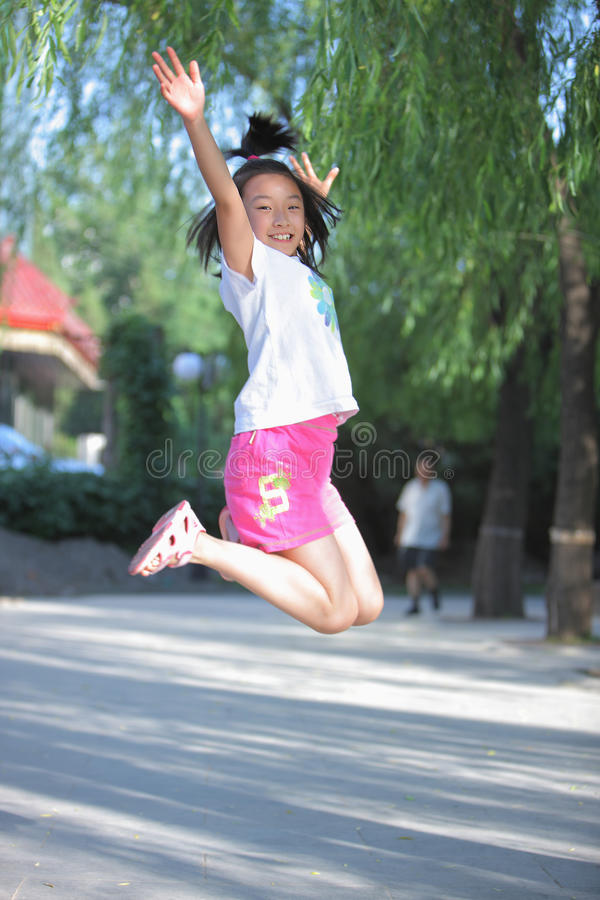Chinese child royalty free stock image