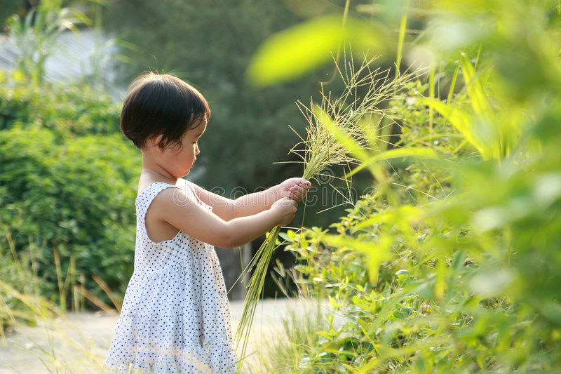 Download Chinese children playing. stock photo. Image of dirty - 6635348