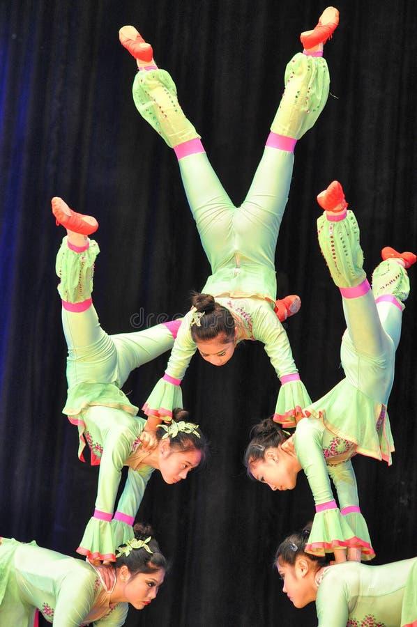 Chinese circus royalty free stock photo