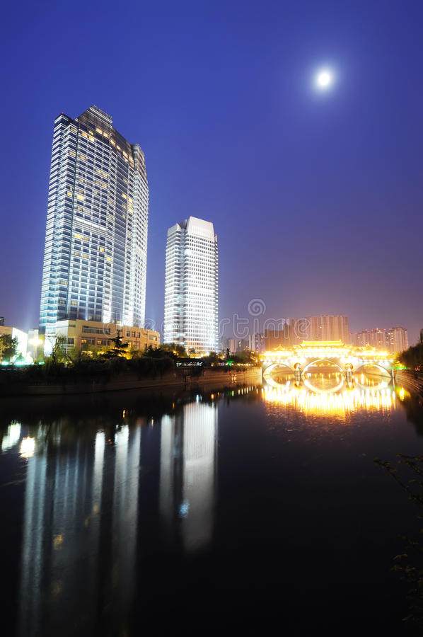 Chinese city chengdu stock photos