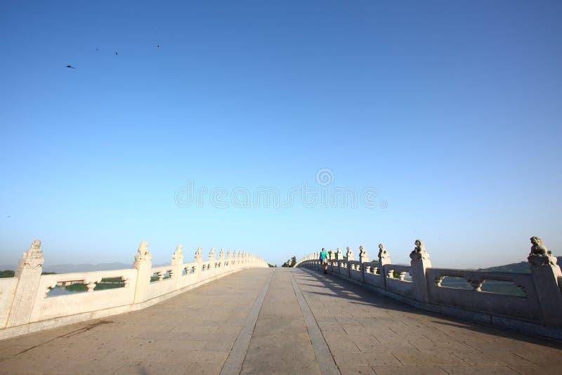 Chinese classic bridge stock photos