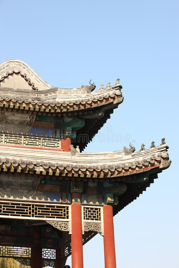 Download Chinese Classic Building Details Stock Photo - Image of sunlight, architecture: 23931766