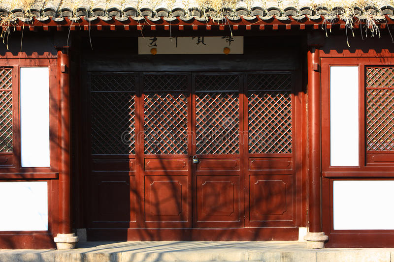 Chinese classic house stock photos