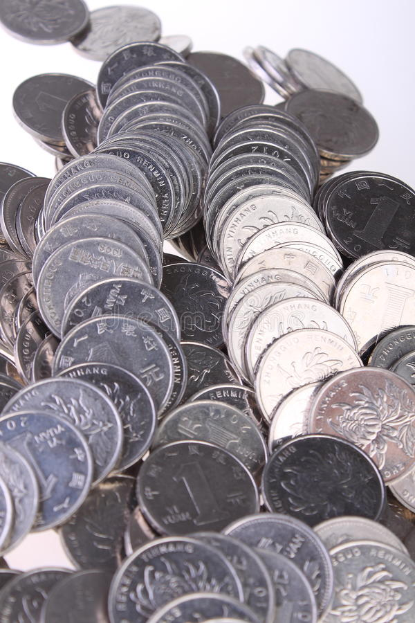 Download Chinese Coins stock photo. Image of colors, metallic - 28529148