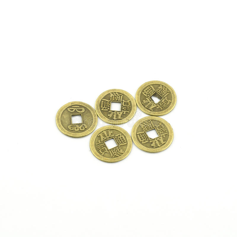 Download Chinese coins stock photo. Image of element, china, aged - 29039870