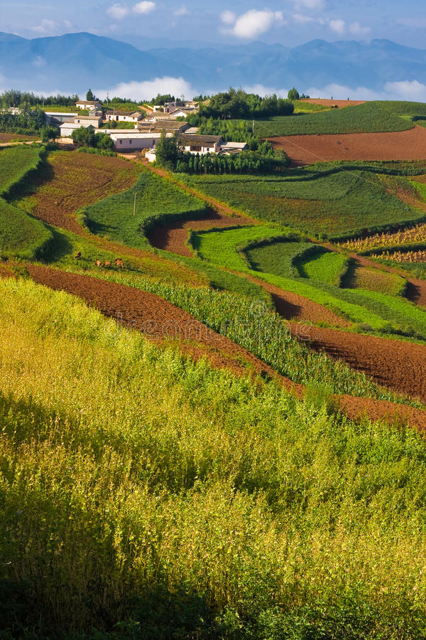 Download Chinese Countryside Village (1) Stock Image - Image: 12424179