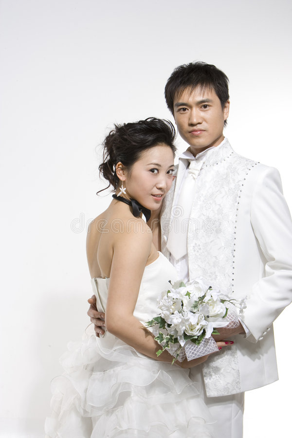 Free Chinese Couple Stock Photography - 5371822