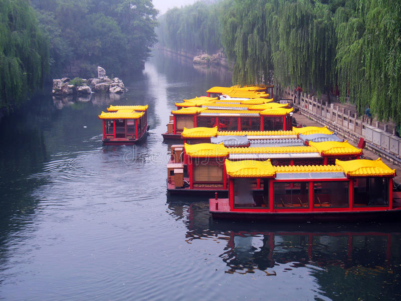 Chinese cruises stock afbeelding