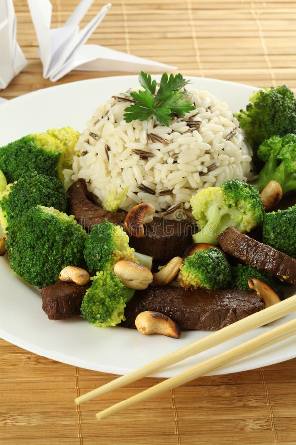 Download Chinese cuisine stock image. Image of broccoli, delicious - 26548757